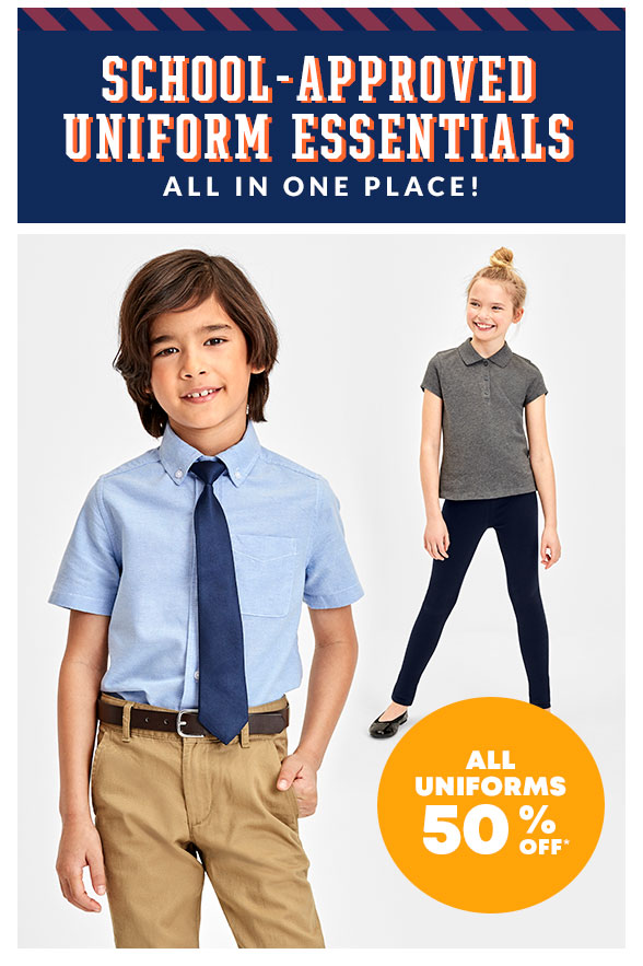 All Uniforms 50% off