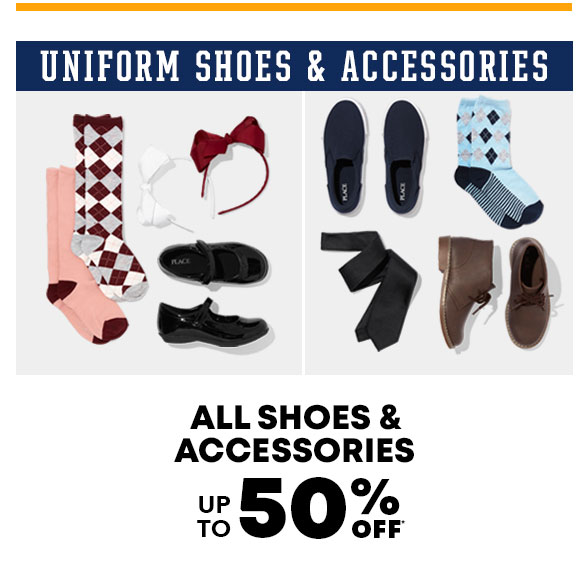 Up to 50% Off Uniform Shoes & Accessories