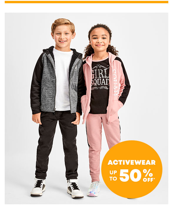 Activewear 50% Off