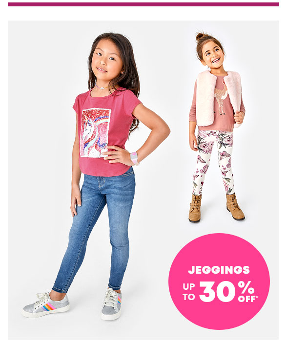 Jeggings up to 30% Off