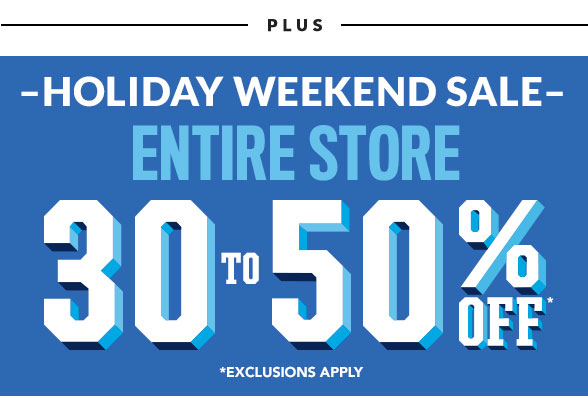 Entire Site 30 to 50% Off