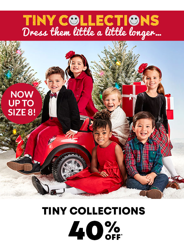 40% Off Tiny Collections