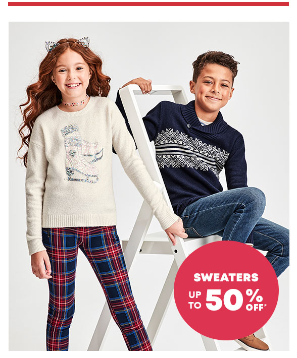 Up to 50% Off Sweaters