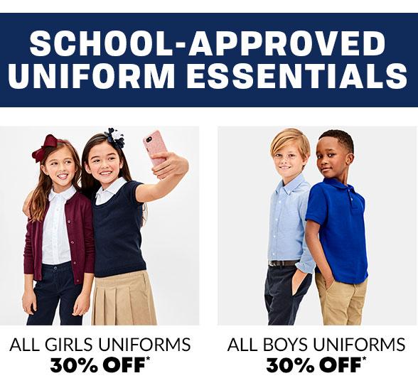 30% Off Uniforms