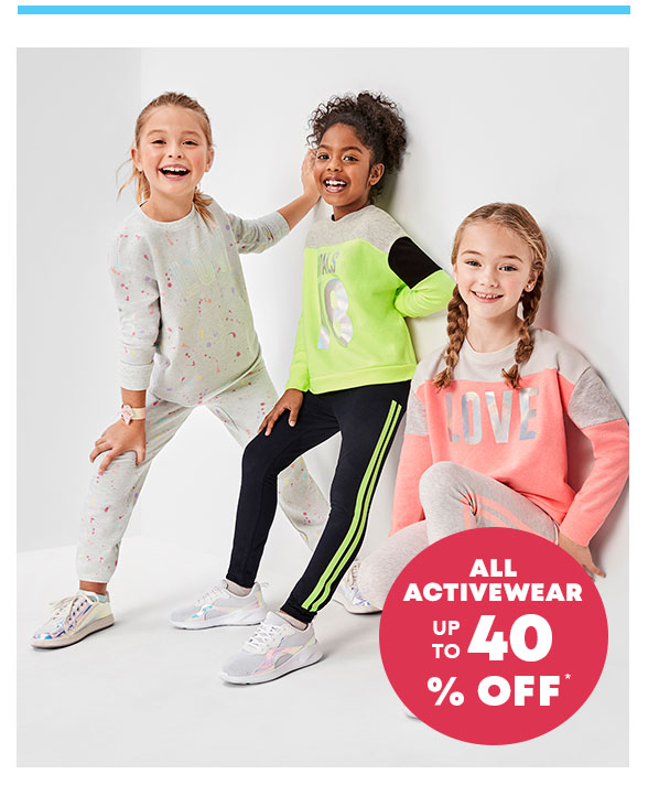 Up to 40% Off All Activewear