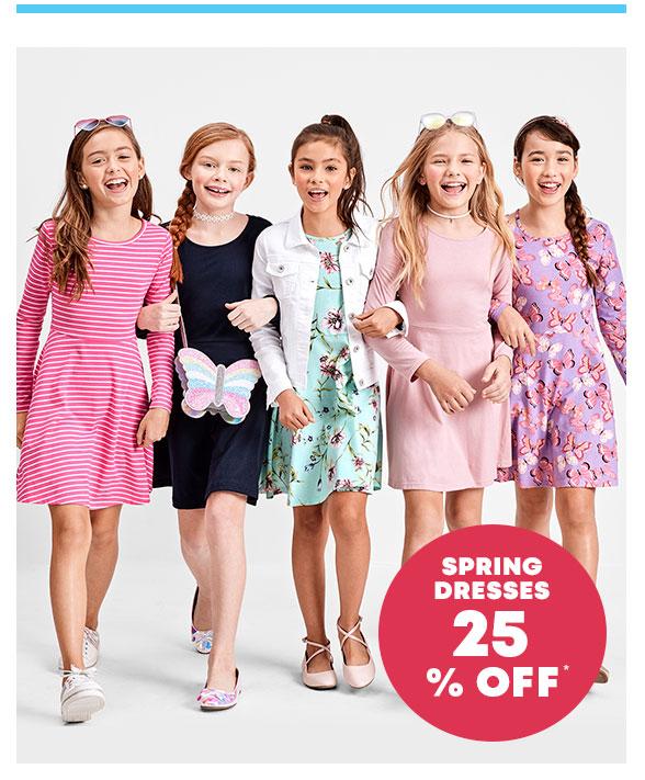 25% Off Spring Dresses