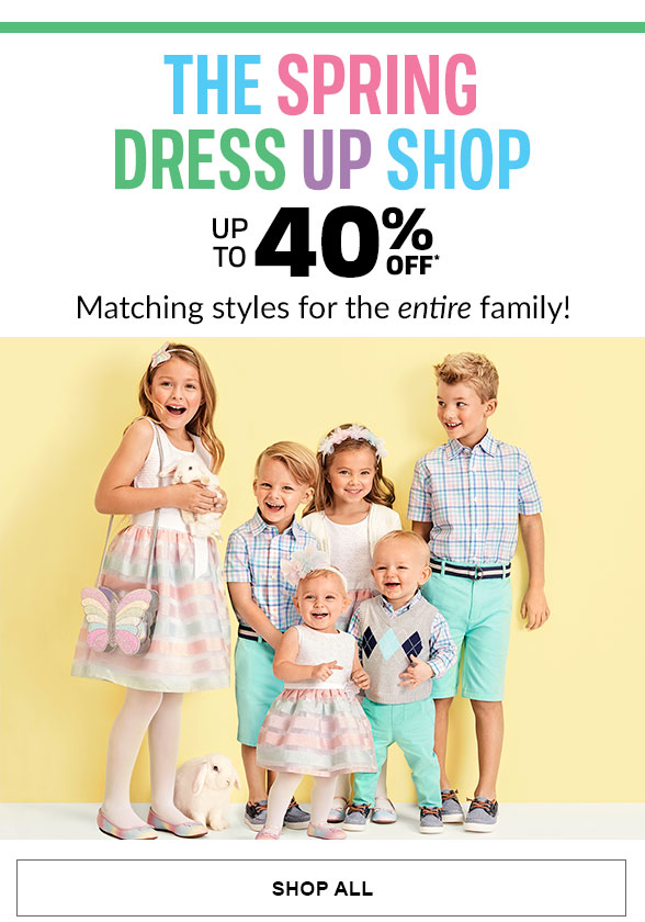 Up to 40% Off Spring Dress Up