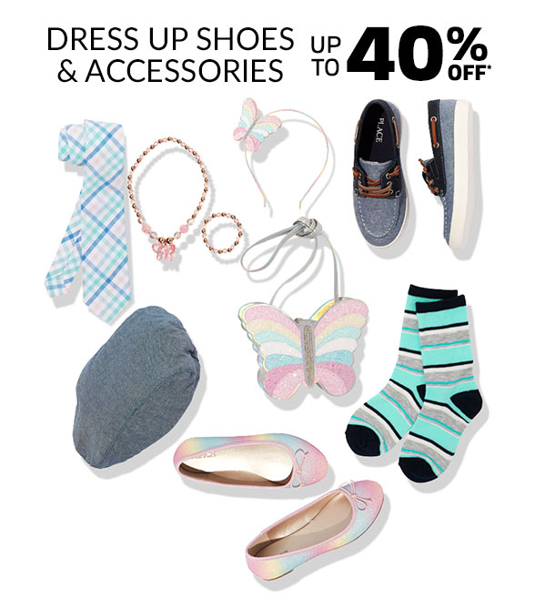 Up to 40% Off Dress Up Shoes & Accessories