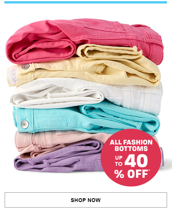 Up to 40% Off Fashion Bottoms