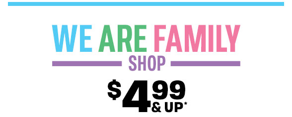 $4.99 & Up Family Shop