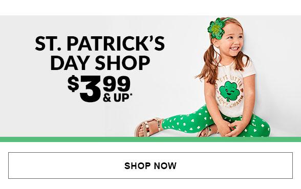 $3.99 & Up St Patricks Day Shop