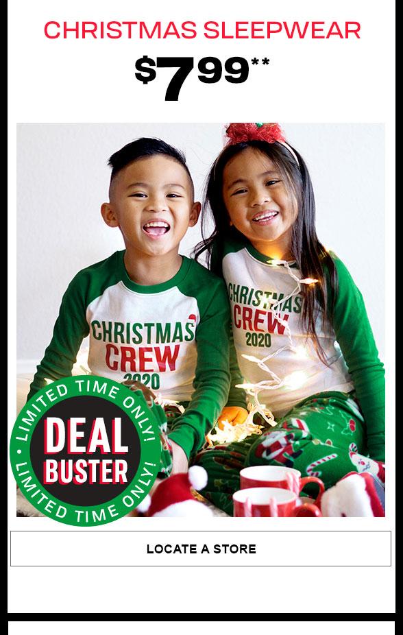 $7.99 Sleepwear Dealbuster
