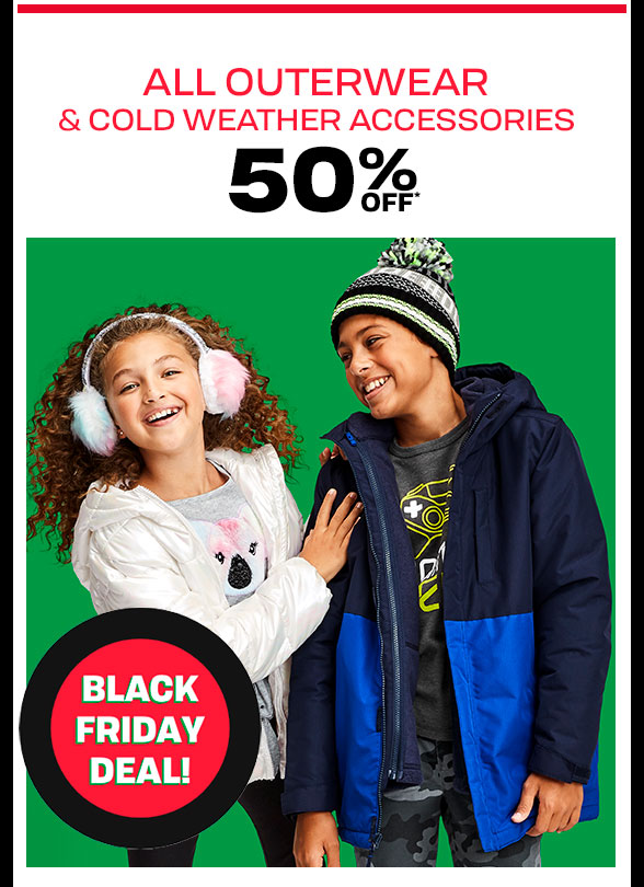 Up to 40% Off All Outerwear