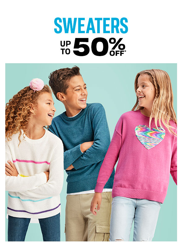 Up to 60% off Sweaters
