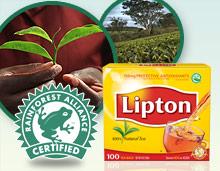LIPTON® Tea and the Rainforest Alliance