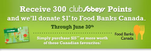 Receive 300 club Sobeys Points