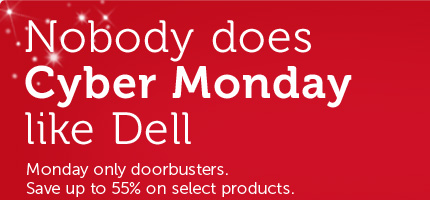 Nobody does Cyber Monday like Dell