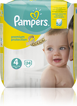 Pampers Premium Protection Windeln Packshot Image