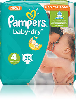 Pampers Baby-Dry Windeln Packshot Image