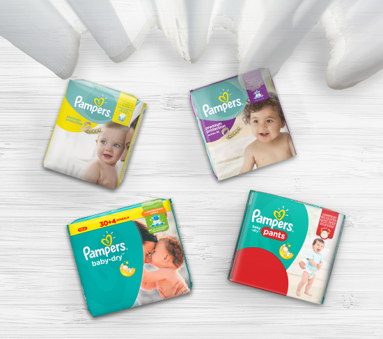 Pampers Produkte