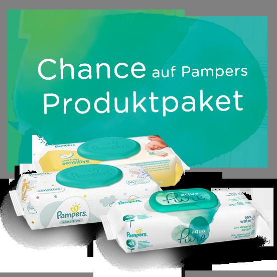 Chance auf Pampers Produktpaket