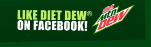 Facebook - LIKE DIET DEW(R) ON FACEBOOK!